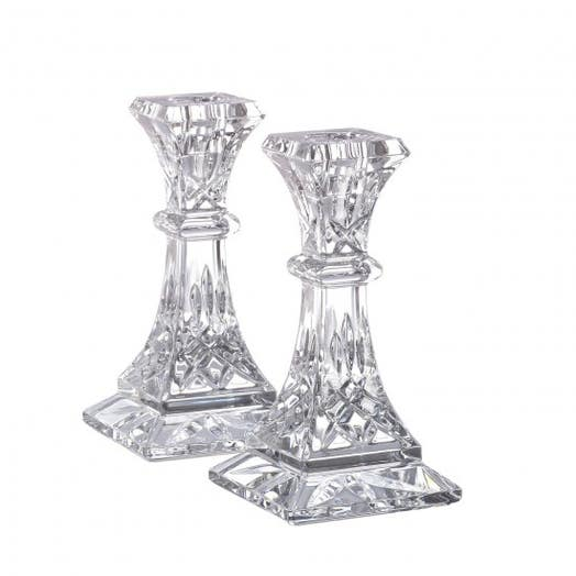 "Waterford Lismore 6"" Candlestick Pair"