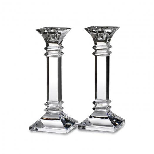 "Waterford Marquis Treviso 8"" Candlestick Pair"
