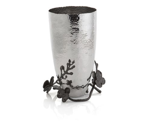 "Michael Aram Medium Black Orchid 10.25"" Vase"
