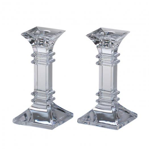 "Waterford Marquis Treviso 6"" Candlestick Pair"