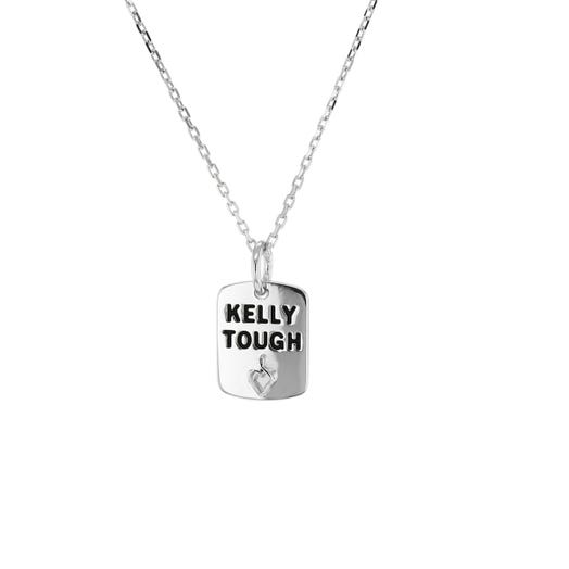 Hunter's Hope Sterling Silver 'Kelly Tough' Pendant Necklace