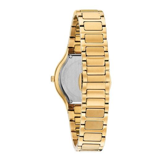 Bulova Women's Millenia Gold-tone Diamond Watch