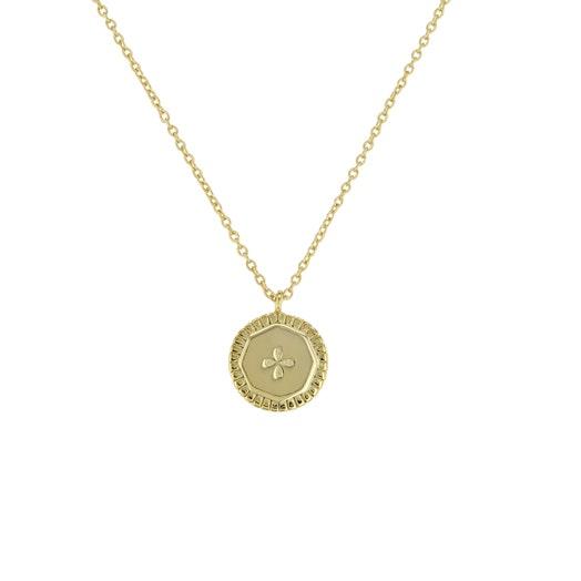 Little Luxuries Drops Coin Pendant Necklace