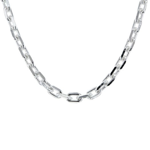 """Sterling Silver 20"""" Cable Link Chain"""