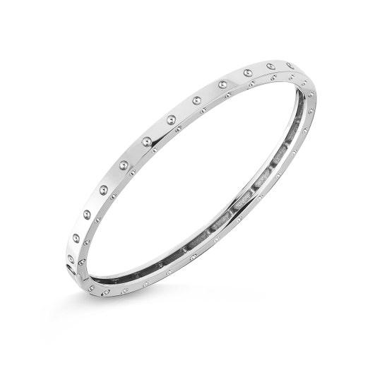 white gold bangle bracelet