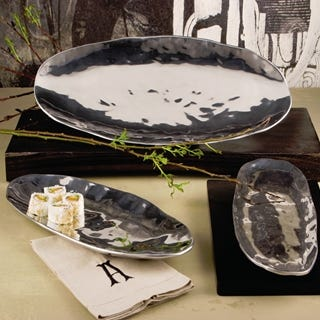 Beatriz Ball SOHO Organic Medium Oval Platter