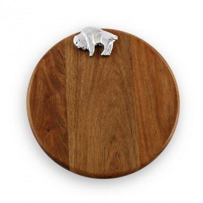 Beatriz Ball Custom Round Board with Buffalo