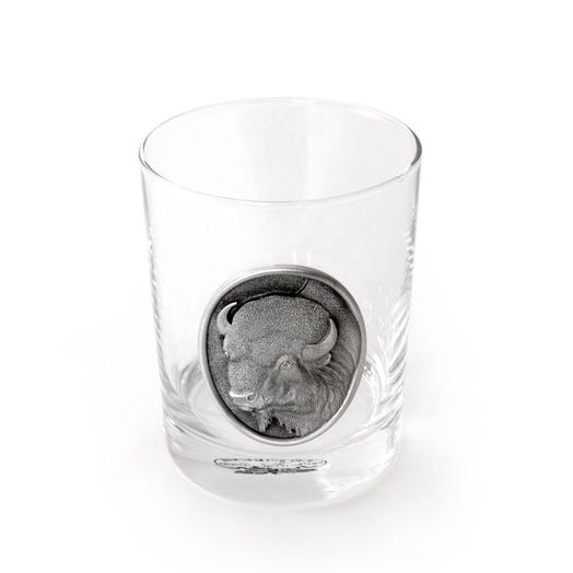 Buffalo Double Old Fashion Glass