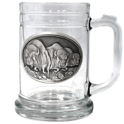 Heritage Pewter Buffalo Beer Stein