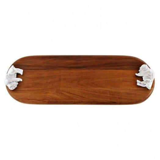 Beatriz Ball Custom Oval Board with Buffalo