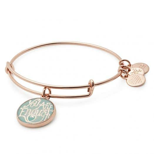 Alex and Ani   Words Are Powerful You are Enough Bangle