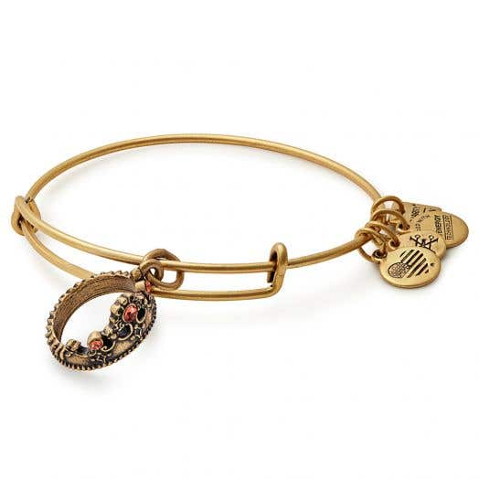 Alex and Ani | Queen's Crown Charm Bangle