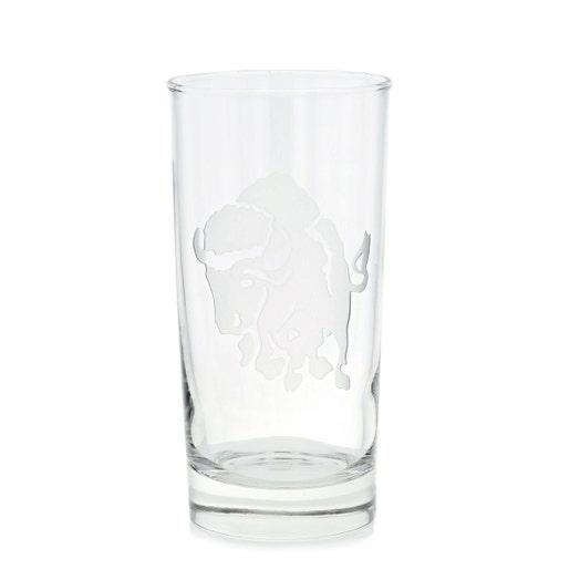 Charging Buffalo Hiball Glass